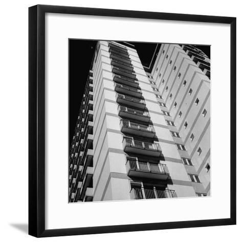 Bachelor Apartment House-Michael Rougier-Framed Art Print