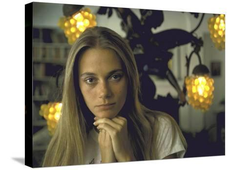 Actress Peggy Lipton-Vernon Merritt III-Stretched Canvas Print