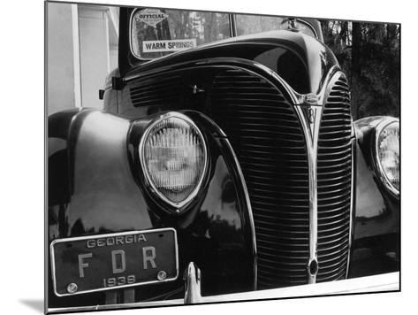 President Franklin Roosevelt's 1938 Ford Sedan-Margaret Bourke-White-Mounted Photographic Print