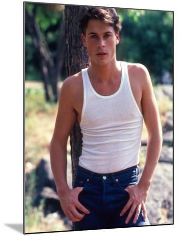 Actor Rob Lowe-David Mcgough-Mounted Premium Photographic Print