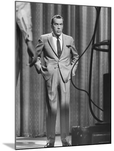 TV Showman, Ed Sullivan-Yale Joel-Mounted Premium Photographic Print