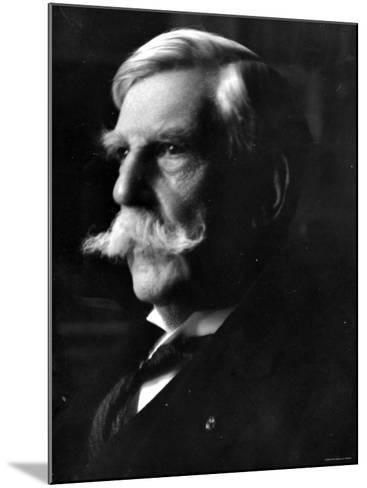 Portrait of Oliver Wendell Holmes, American Jurist and Associate Justice of the U.S. Supreme Court--Mounted Premium Photographic Print