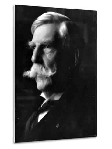 Portrait of Oliver Wendell Holmes, American Jurist and Associate Justice of the U.S. Supreme Court--Metal Print