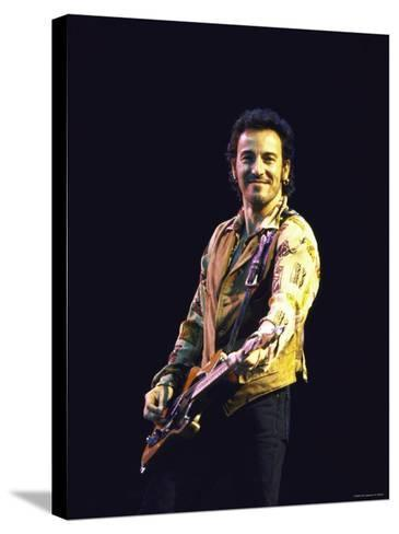 Bruce Springsteen--Stretched Canvas Print