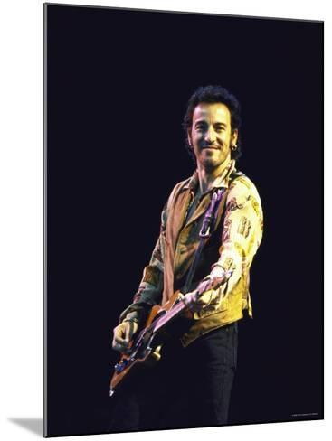 Bruce Springsteen--Mounted Premium Photographic Print