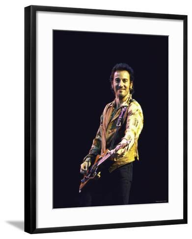 Bruce Springsteen--Framed Art Print
