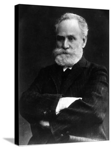 Portrait of Ivan Pavlov, Russian Physiologist and Experimental Psychologist--Stretched Canvas Print