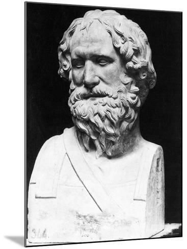 Greek Mathematician, Engineer, and Physicist Archimedes Famous for Invention, the Archimedean Screw--Mounted Photographic Print