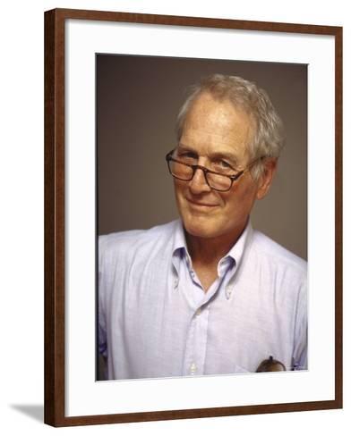 Paul Newman--Framed Art Print
