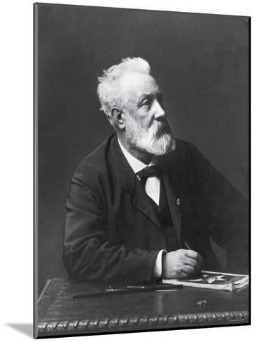 Copy from Carte de Visite of French Writer and Futurist Jules Verne--Mounted Premium Photographic Print
