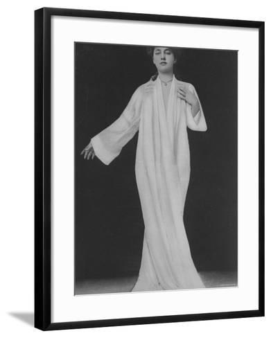 Evelyn Nesbit Thaw--Framed Art Print