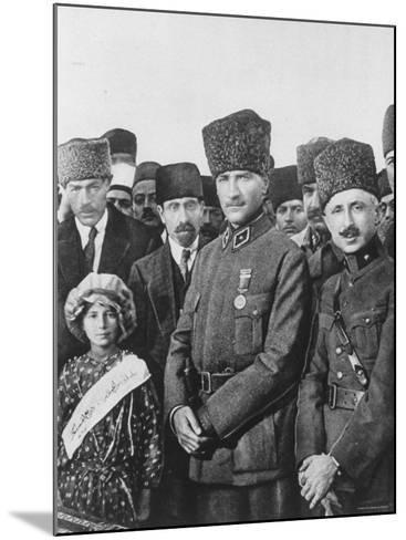 Turkish Leader Mustafa Kemal Ataturk--Mounted Premium Photographic Print