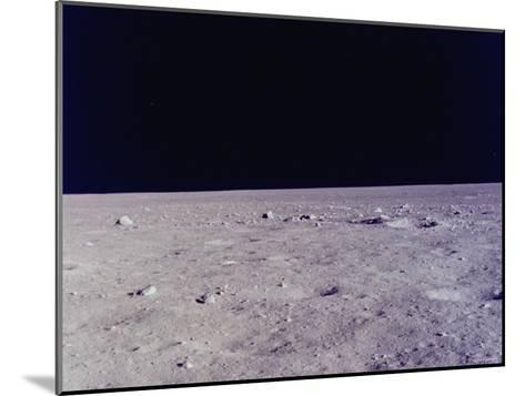 Surface of Moon as Seen from Window of Apollo 11 Lunar Module--Mounted Photographic Print