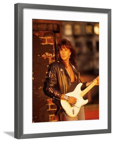 Richie Sambora--Framed Art Print
