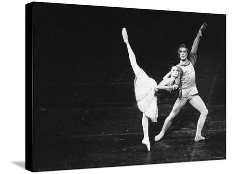 Dancers in the New York City Ballet Production of A Mid Summer Night's Dream-Gjon Mili-Stretched Canvas Print
