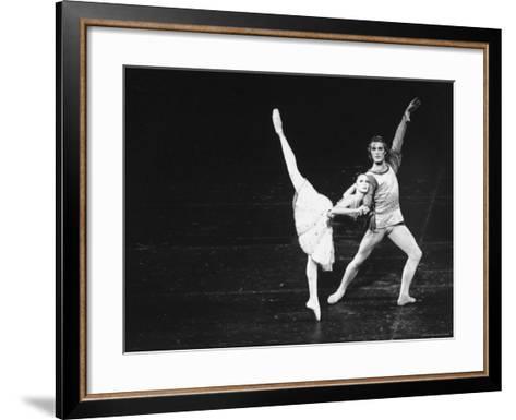 Dancers in the New York City Ballet Production of A Mid Summer Night's Dream-Gjon Mili-Framed Art Print