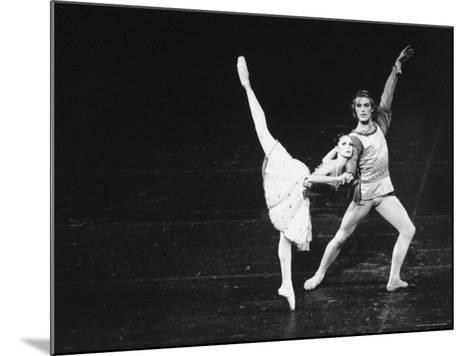 Dancers in the New York City Ballet Production of A Mid Summer Night's Dream-Gjon Mili-Mounted Premium Photographic Print