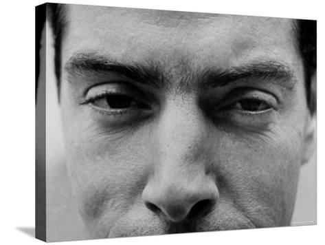 """Close Up of """"Yankee Clipper"""" Joe DiMaggio's Eyes and Nose-Ralph Morse-Stretched Canvas Print"""