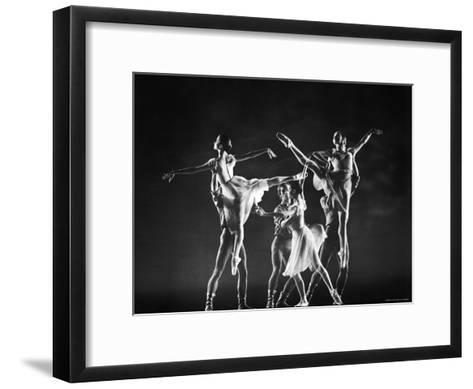 Antony Blum and Kay Mazzo in New York City Ballet Production of Dances at a Gathering-Gjon Mili-Framed Art Print