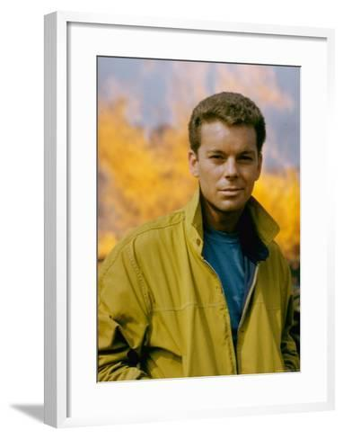 Russ Tamblyn as Riff, Gang Leader of the Jets in Scene from West Side Story-Gjon Mili-Framed Art Print