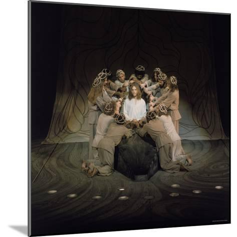 Jesus Surrounded by His Disciples in a Scene from Jesus Christ Superstar-John Olson-Mounted Premium Photographic Print