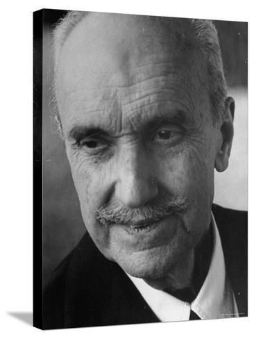 Philosopher George Santayana-George Silk-Stretched Canvas Print