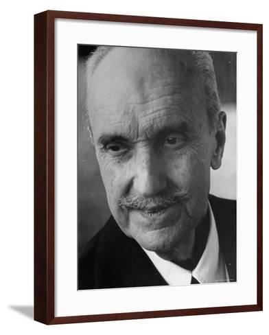 Philosopher George Santayana-George Silk-Framed Art Print