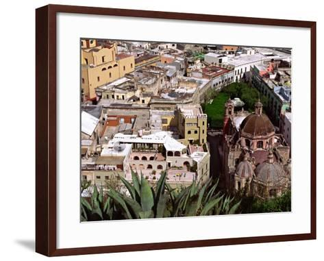 City View Including the Church of San Diego, Guadalajara, Mexico-Charles Sleicher-Framed Art Print