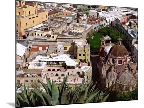 City View Including the Church of San Diego, Guadalajara, Mexico-Charles Sleicher-Mounted Photographic Print