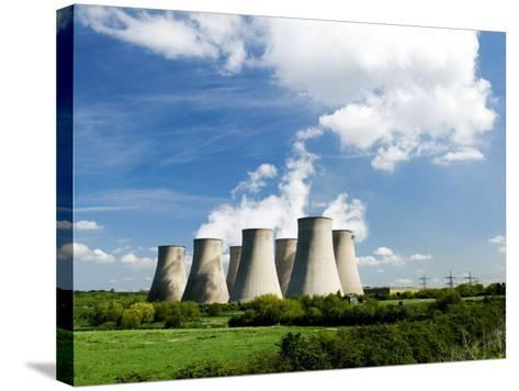 Ratcliffe on Soar Power Station, England-Martin Page-Stretched Canvas Print