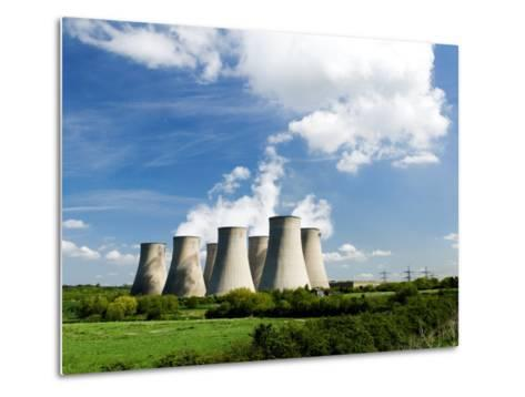 Ratcliffe on Soar Power Station, England-Martin Page-Metal Print