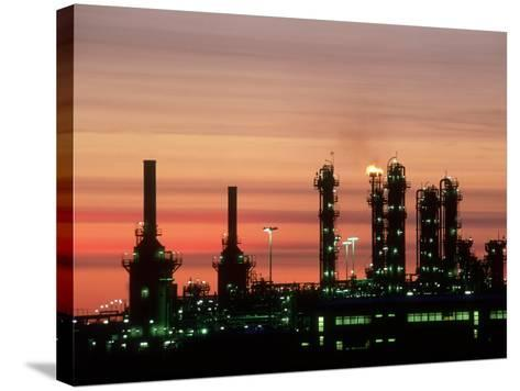 North Sea Gas Terminal, Buchan, Scotland-Iain Sarjeant-Stretched Canvas Print