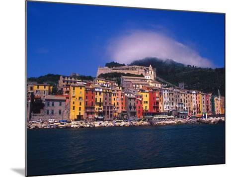 Colorful Buildings on Waterfront of Portovenere, Italy-Julie Eggers-Mounted Photographic Print