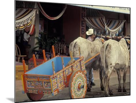 Ox Cart in Artesan Town of Sarchi, Costa Rica-Stuart Westmoreland-Mounted Photographic Print