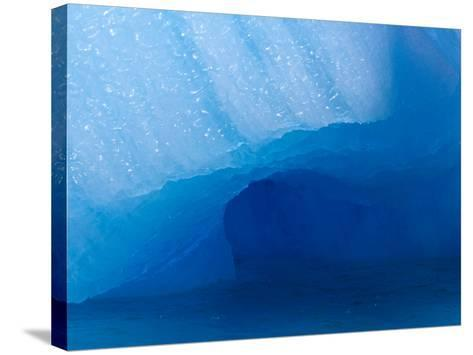 Columbia Glacier Iceberg, Columbia Bay, Prince William Sound, Alaska, USA-Hugh Rose-Stretched Canvas Print