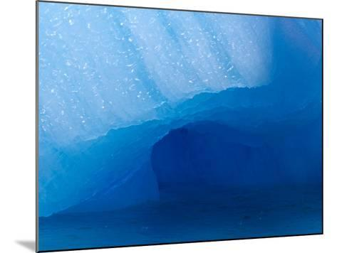Columbia Glacier Iceberg, Columbia Bay, Prince William Sound, Alaska, USA-Hugh Rose-Mounted Photographic Print