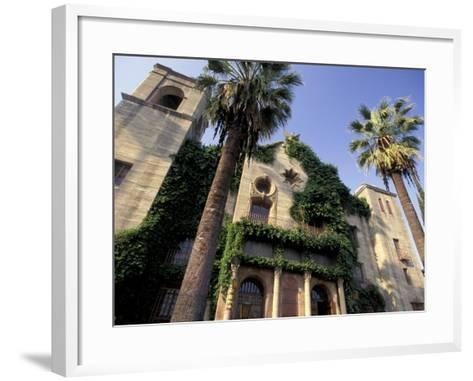 Municipal Auditorium, Riverside, California, USA-Nik Wheeler-Framed Art Print