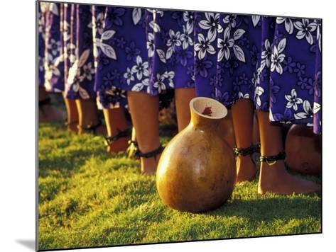 Hula Dancers, Kauai, Hawaii, USA-John & Lisa Merrill-Mounted Photographic Print