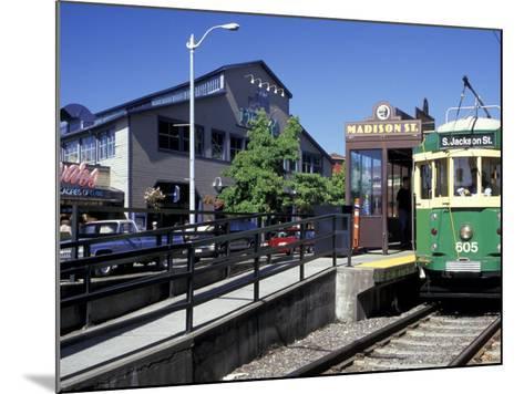 Waterfront Streetcar, Seattle, Washington, USA-Jamie & Judy Wild-Mounted Photographic Print