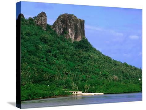 Sokehs Ridge, Micronesia-John Elk III-Stretched Canvas Print