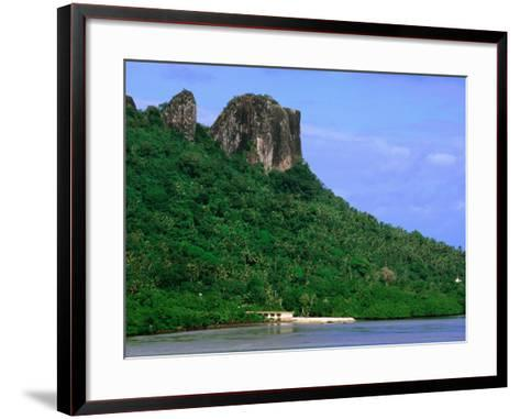 Sokehs Ridge, Micronesia-John Elk III-Framed Art Print