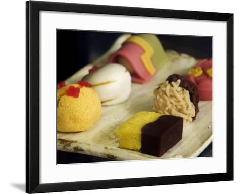 Sweets for Sale, Kyoto, Japan-Phil Weymouth-Framed Art Print