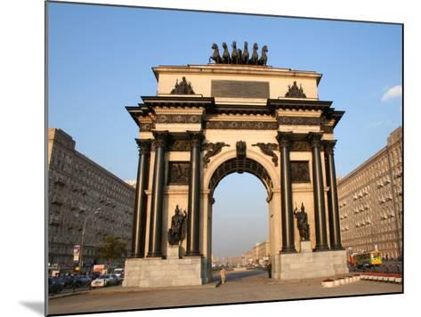 Triumphal Arch, Moscow, Russia-Jonathan Smith-Mounted Photographic Print