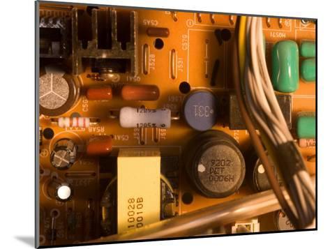 A Circuit Board Inside a CRT Monitor-Joel Sartore-Mounted Photographic Print
