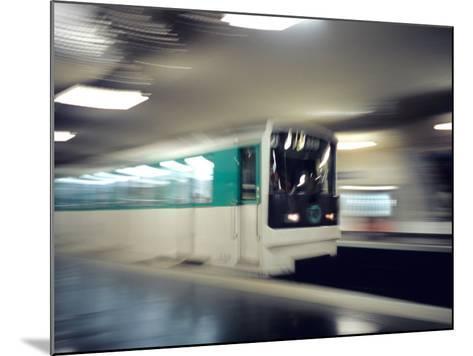 Metro, Paris, France-David Barnes-Mounted Photographic Print