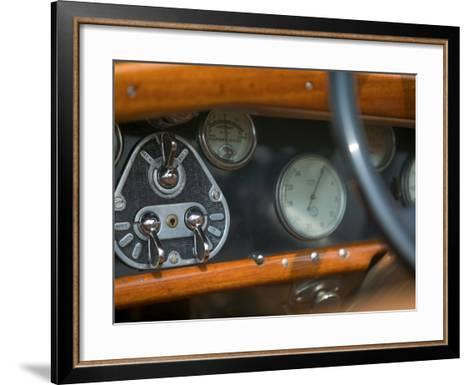 Antique Jaguar, Germany-Russell Young-Framed Art Print