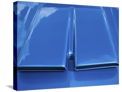 Close-up on Muscle Car Vent--Stretched Canvas Print