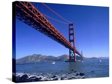 Golden Gate Bridge, San Francisco, CA-Robert Houser-Stretched Canvas Print