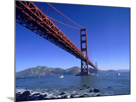Golden Gate Bridge, San Francisco, CA-Robert Houser-Mounted Photographic Print