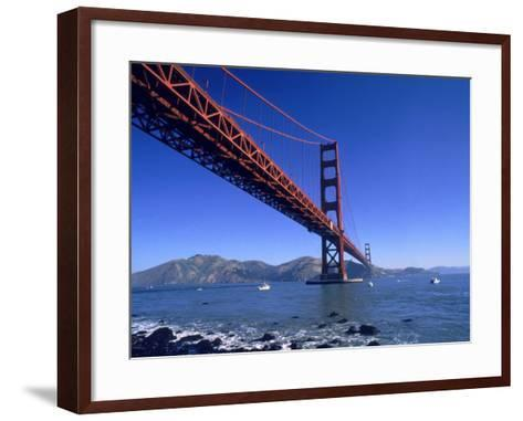 Golden Gate Bridge, San Francisco, CA-Robert Houser-Framed Art Print